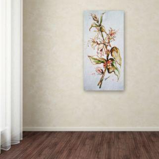 Trademark Fine Art Coffee Flowers Canvas Wall Art