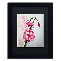 Trademark Fine Art New Bloom Black Framed Wall Art