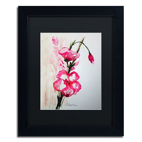 Trademark Fine Art New Bloom Black Framed Wall Art