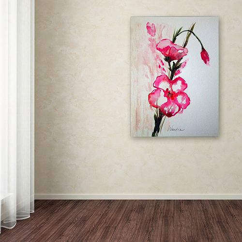 Trademark Fine Art New Bloom Canvas Wall Art