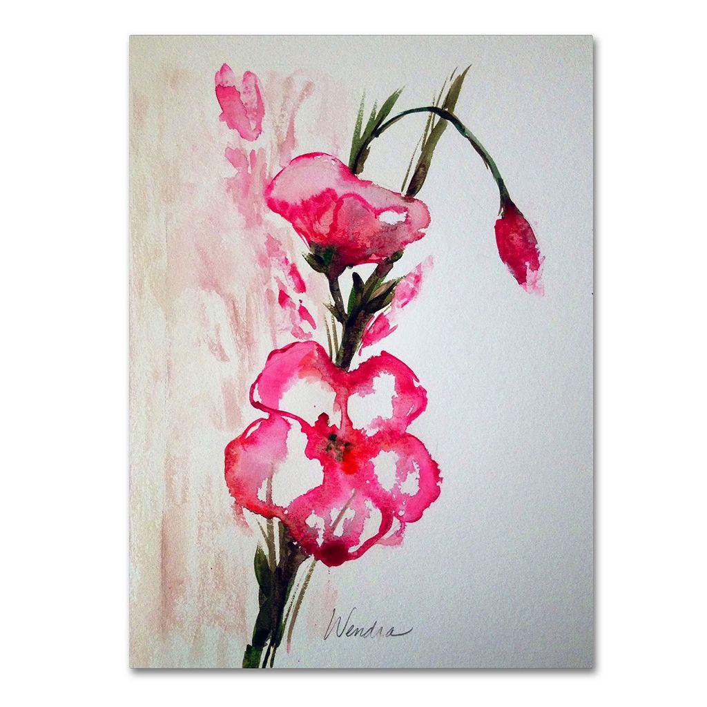 Trademark Fine Art New Bloom Canvas Wall Art