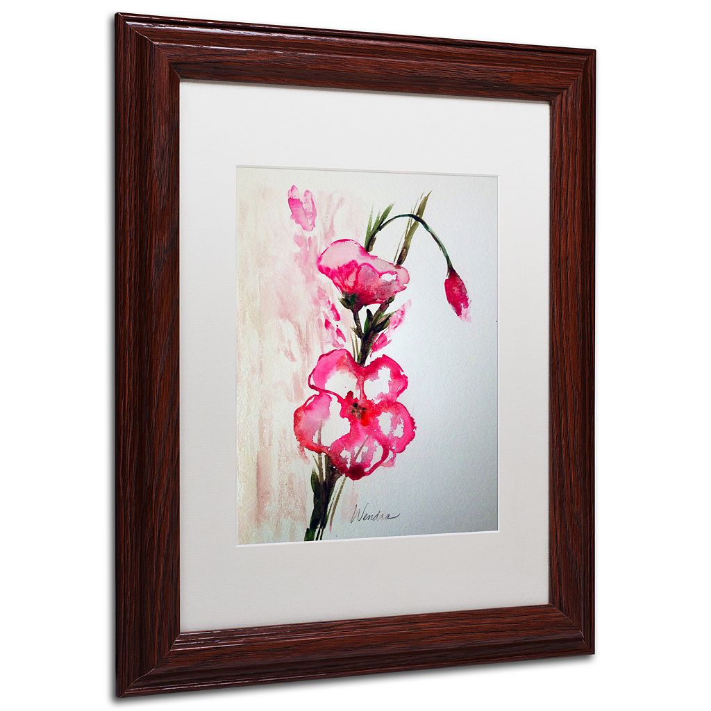 Trademark Fine Art New Bloom Framed Wall Art
