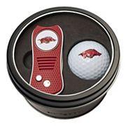 Team Golf Arkansas Razorbacks Switchfix Divot Tool & Golf Ball Set