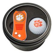 Team Golf Clemson Tigers Switchfix Divot Tool & Golf Ball Set