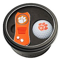 Team Golf Clemson Tigers Switchfix Divot Tool & Golf Ball Set