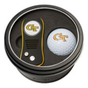 Team Golf Georgia Tech Yellow Jackets Switchfix Divot Tool & Golf Ball Set