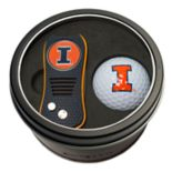 Team Golf Illinois Fighting Illini Switchfix Divot Tool & Golf Ball Set