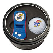 Team Golf Kansas Jayhawks Switchfix Divot Tool & Golf Ball Set