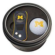 Team Golf Michigan Wolverines Switchfix Divot Tool & Golf Ball Set