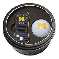 Team Golf Michigan Wolverines Switchfix Divot Tool & Golf Ball Set