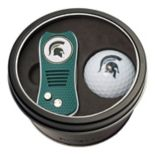 Team Golf Michigan State Spartans Switchfix Divot Tool & Golf Ball Set