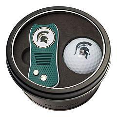 Team Golf Michigan State Spartans Switchfix Divot Tool & Golf Ball Set