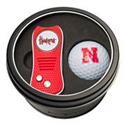 Team Golf Nebraska Cornhuskers Switchfix Divot Tool & Golf Ball Set