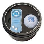 Team Golf North Carolina Tar Heels Switchfix Divot Tool & Golf Ball Set