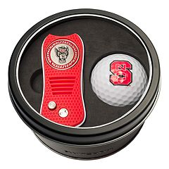 Team Golf North Carolina State Wolfpack Switchfix Divot Tool & Golf Ball Set