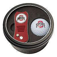 Team Golf Ohio State Buckeyes Switchfix Divot Tool & Golf Ball Set