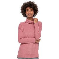 Women's SONOMA Goods for Life™ Supersoft Marled Cowlneck Sweater