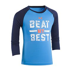 Boys 4-7 Under Armour Raglan 'Beat My Best' Tee