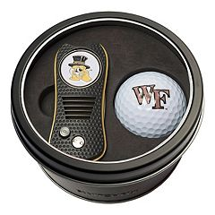 Team Golf Wake Forest Demon Deacons Switchfix Divot Tool & Golf Ball Set