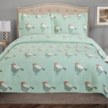 Grand Collection Sparrow Microfiber Quilt Set