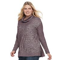 Plus Size SONOMA Goods for Life™ Cowlneck Top