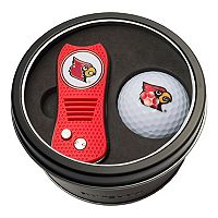 Team Golf Louisville Cardinals Switchfix Divot Tool & Golf Ball Set