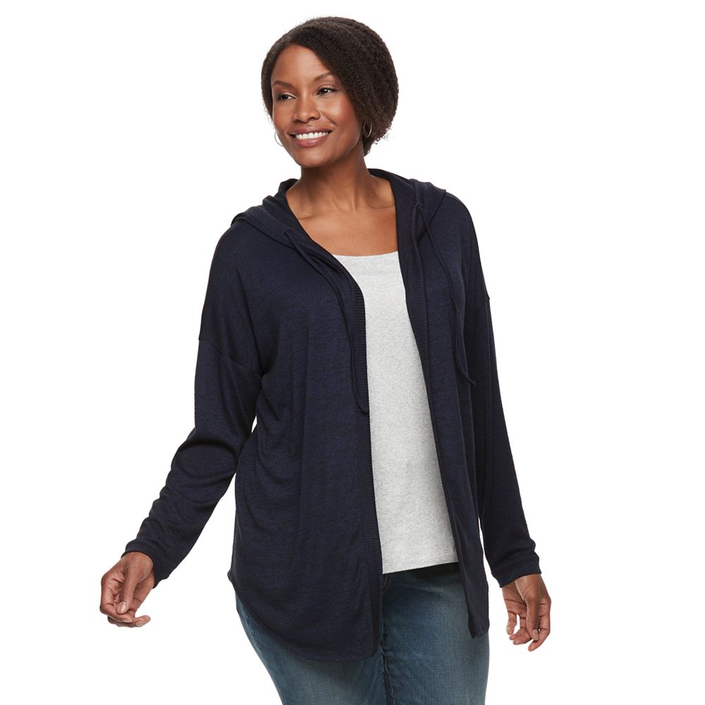 Size SONOMA Goods for Life™ Hooded Cardigan