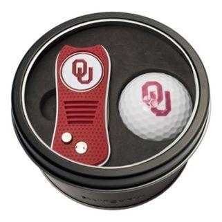 Team Golf Oklahoma Sooners Switchfix Divot Tool & Golf Ball Set