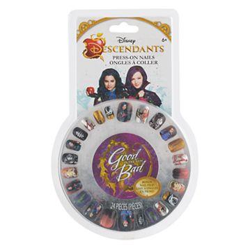Disney's Descendants Girls 6-12 Press-On Nail Kit