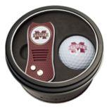 Team Golf Mississippi State Bulldogs Switchfix Divot Tool & Golf Ball Set