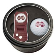 Team Golf Mississippi State Bulldogs Switchfix Divot Tool & Golf Ball Set