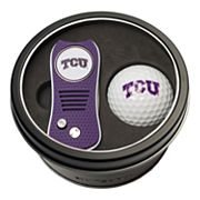 Team Golf TCU Horned Frogs Switchfix Divot Tool & Golf Ball Set