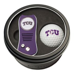 Team Golf TCU Horned Frogs Switchfix Divot Tool & Golf Ball Set
