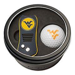 Team Golf West Virginia Mountaineers Switchfix Divot Tool & Golf Ball Set