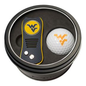Team Golf West Virginia Mountaineers Switchfix Divot Tool & Golf Ball Set