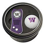 Team Golf Washington Huskies Switchfix Divot Tool & Golf Ball Set