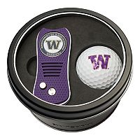 Team Golf Washington Huskies Switchfix Divot Tool & Golf Ball Set