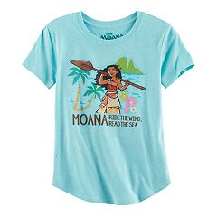 Disney's Moana 'Ride the Wind, Read the Sea' Girls 7-16 & Plus Size Glitter Graphic Tunic