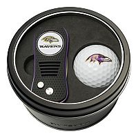 Team Golf Baltimore Ravens Switchfix Divot Tool & Golf Ball Set
