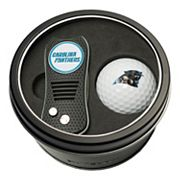 Team Golf Carolina Panthers Switchfix Divot Tool & Golf Ball Set