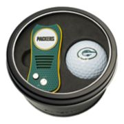 Team Golf Green Bay Packers Switchfix Divot Tool & Golf Ball Set