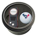 Team Golf Houston Texans Switchfix Divot Tool & Golf Ball Set