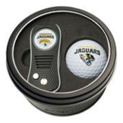 Team Golf Jacksonville Jaguars Switchfix Divot Tool & Golf Ball Set