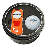 Team Golf Miami Dolphins Switchfix Divot Tool & Golf Ball Set