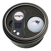 Team Golf New EnglandPatriots Switchfix Divot Tool & Golf Ball Set
