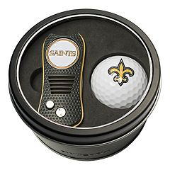 Team Golf New Orleans Saints Switchfix Divot Tool & Golf Ball Set