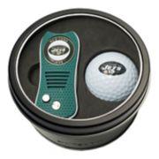 Team Golf New York Jets Switchfix Divot Tool & Golf Ball Set