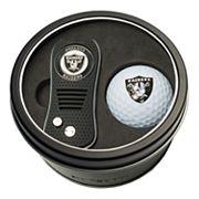 Team Golf Oakland Raiders Switchfix Divot Tool & Golf Ball Set