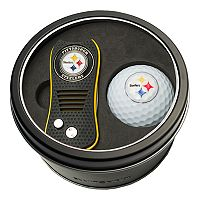 Team Golf Pittsburgh Steelers Switchfix Divot Tool & Golf Ball Set