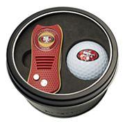 Team Golf San Francisco 49ers Switchfix Divot Tool & Golf Ball Set